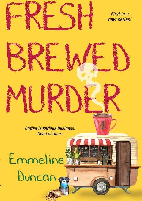 Fresh Brewed Murder will also be an audiobook!