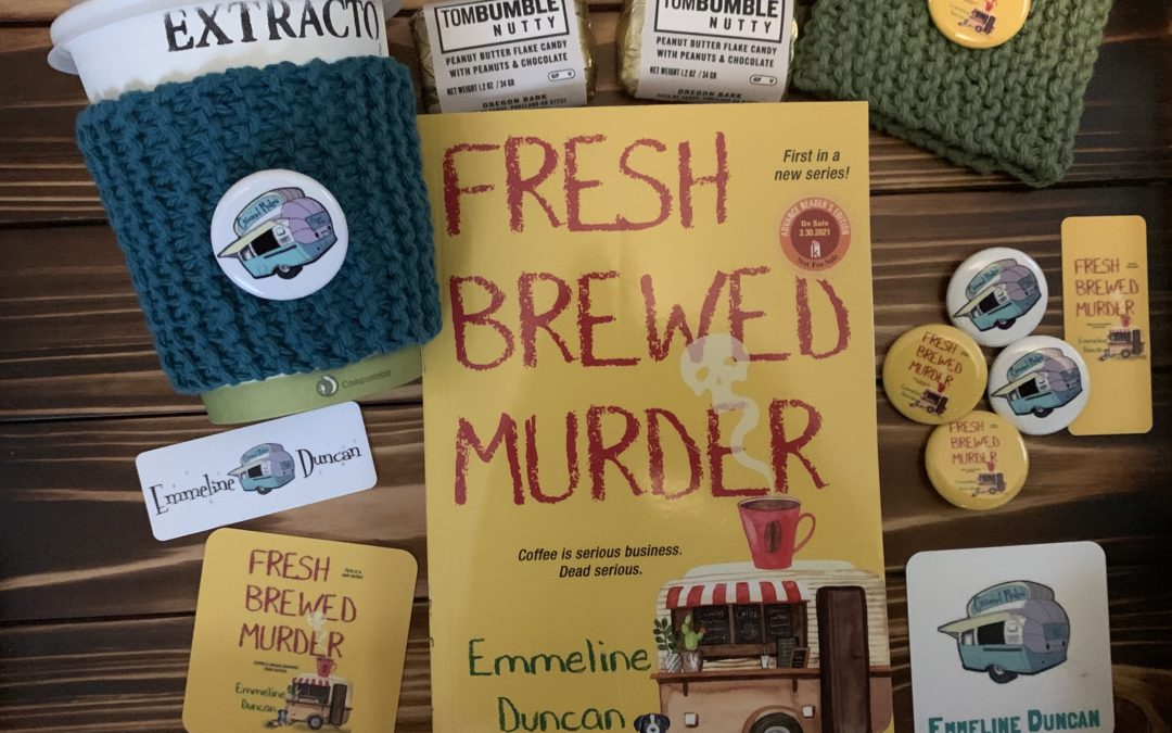 Pre-Order Fresh Brewed Murder from Annie Bloom's Books and receive swag!