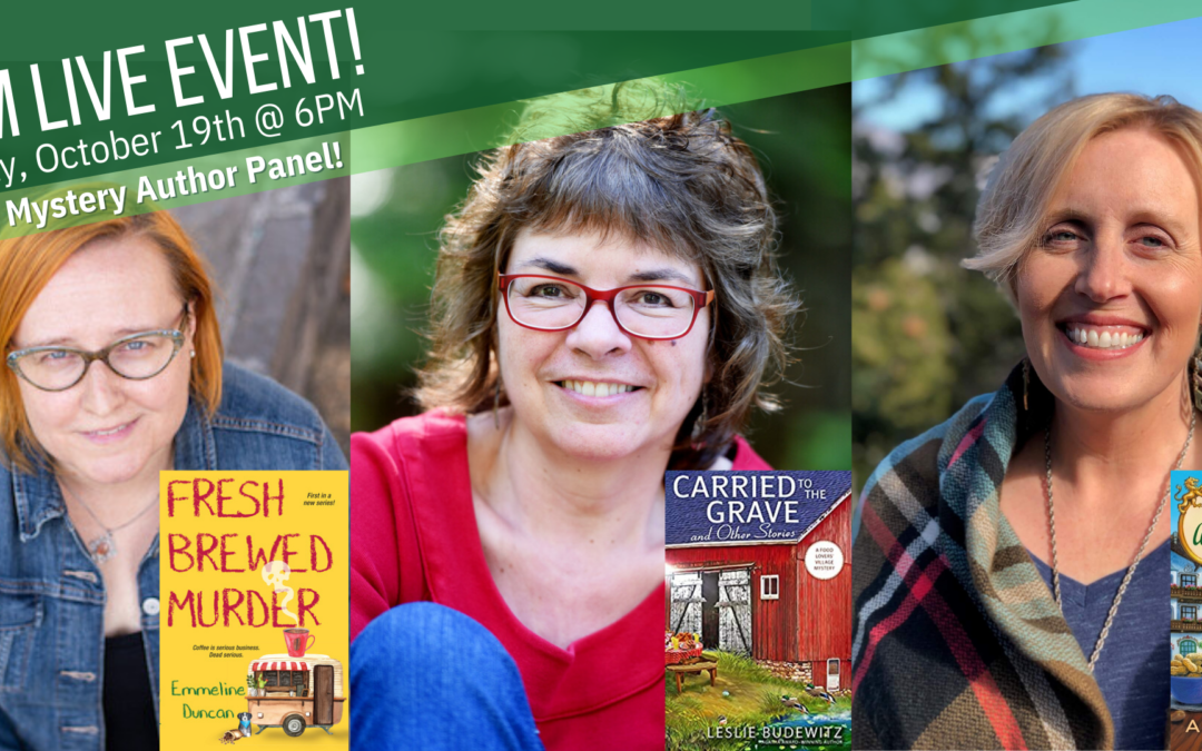 Cozy Mystery Author Panel with Rediscovered Books