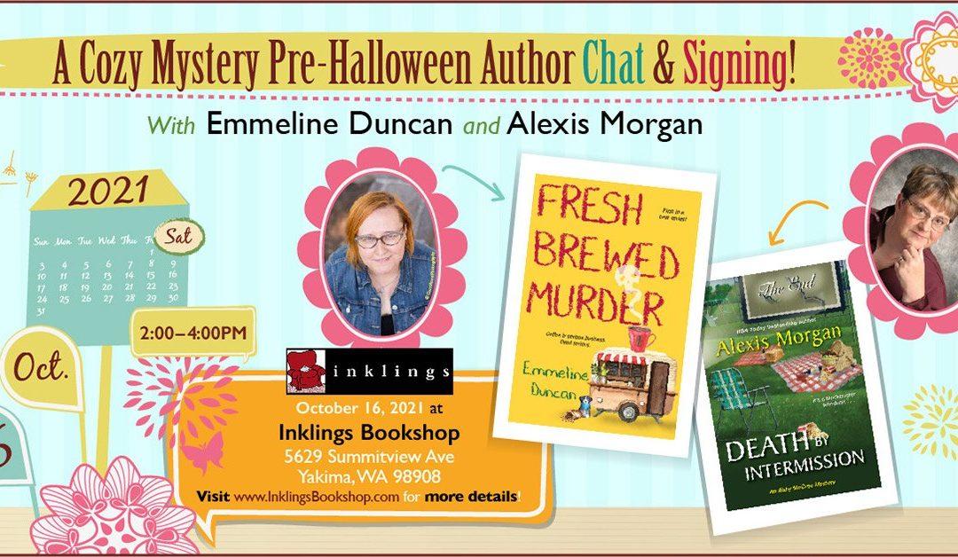 Inklings Bookstore in Yakima, Washington: Cozy Mysteries For Halloween
